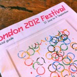 A photo of the London 2012 Festival brochure